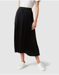 French Connection - Black Pleated Skirt