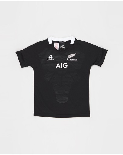 adidas Performance - All Blacks Home Jersey - Kids-Teens
