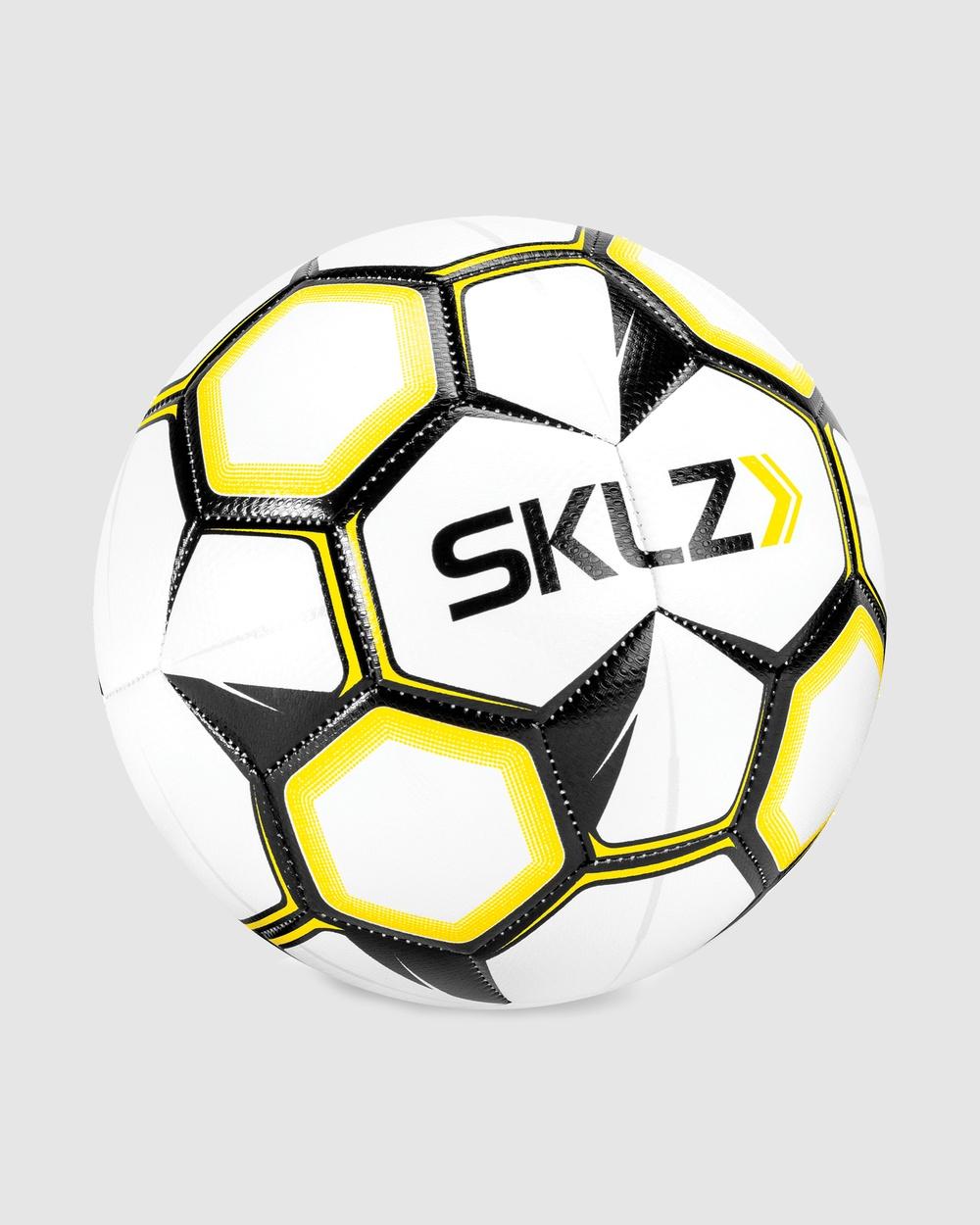 SKLZ Soccer Ball Size 5 Training Equipment White
