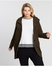 Advocado Plus - Curved Hem Jacket