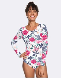 Roxy - Womens Urban Waves Long Sleeved UPF 50 Onesie