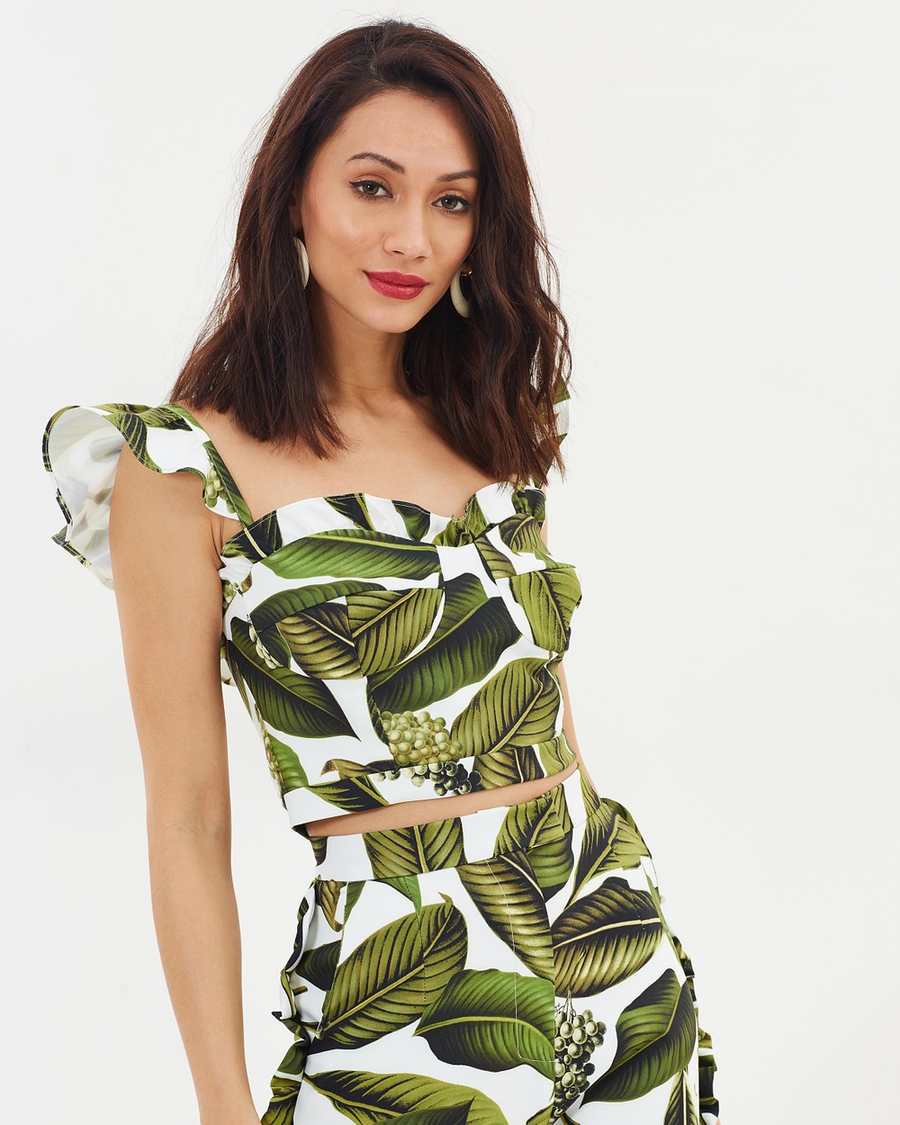 Pasduchas Vineyard Bustier Cropped tops Leaf Vineyard Bustier