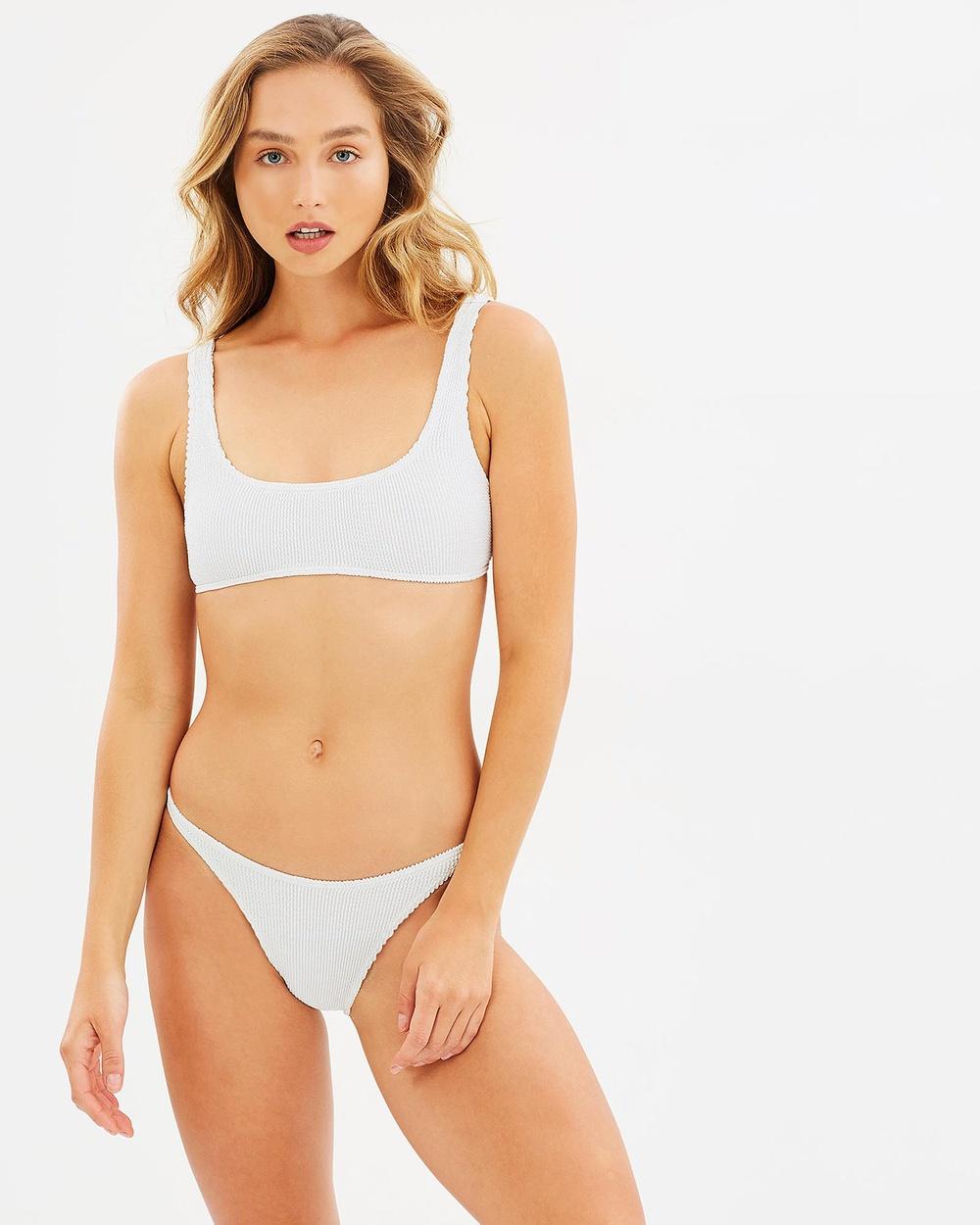 BOUND by Bond-Eye Australia The Malibu Bikini Set Optic White The Malibu