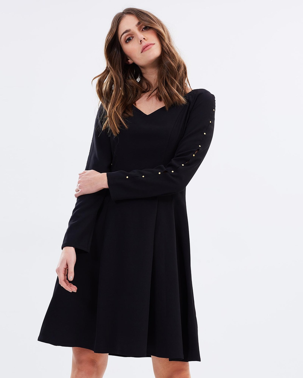 Alabaster The Label Miss Independent Dresses Black Miss Independent