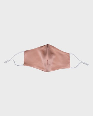 Masqe Silk Face Mask - Wellness (Coral)