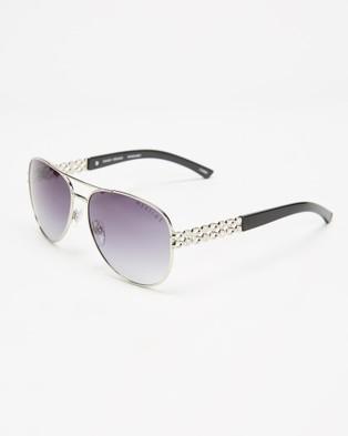 Mestige Sunset Dreams with Swarovski?« Crystals - Sunglasses (Silver)