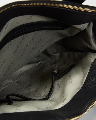 Tony Bianco THE ICONIC EXCLUSIVE   Envy Satchel - Handbags (Black)