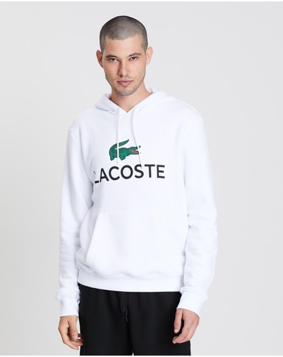 Lacoste - Hooded Logo Pull-Over