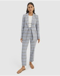 SABA - Dani Check Suit Jacket