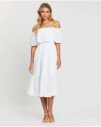 Dorothy Perkins - Broderie Tiered Frill Dress