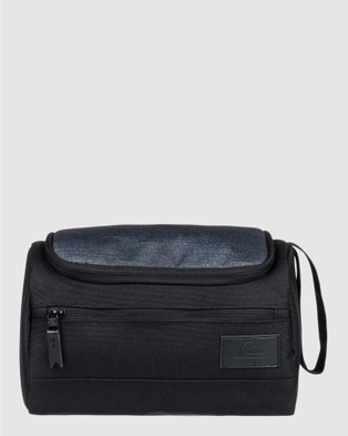 Quiksilver Capsule Wash Bag - Travel and Luggage (Black)