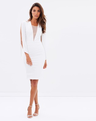 Miss Holly – Emilia Dress – Bodycon Dresses (White)