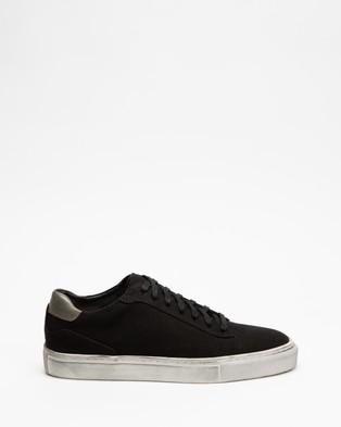 Locale Williamsburg Canvas Sneakers - Sneakers (Black)