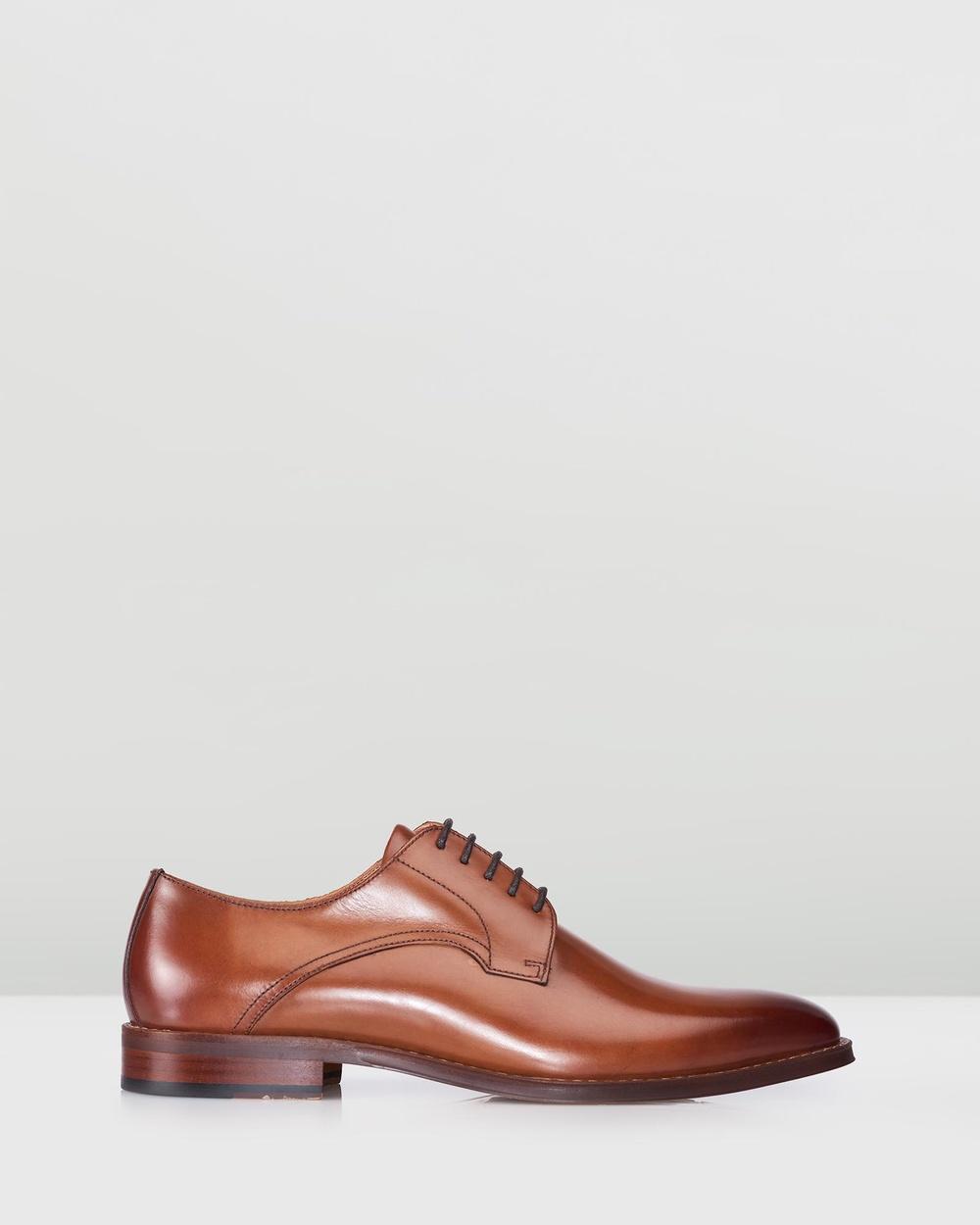 3 Wise Men The Bruce Dress Shoes Tan