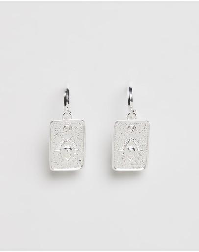 Carly Paiker Deity Earrings Silver