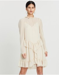 See By Chloé - Textured Georgette Dress