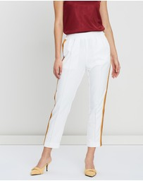 Scotch & Soda - Contrast Panel Trousers