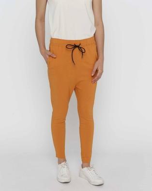 Privilege Washington Jogger Pants - Pants (Papaya)