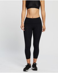 Under Armour - UA Rush Side Piping Crop Tights
