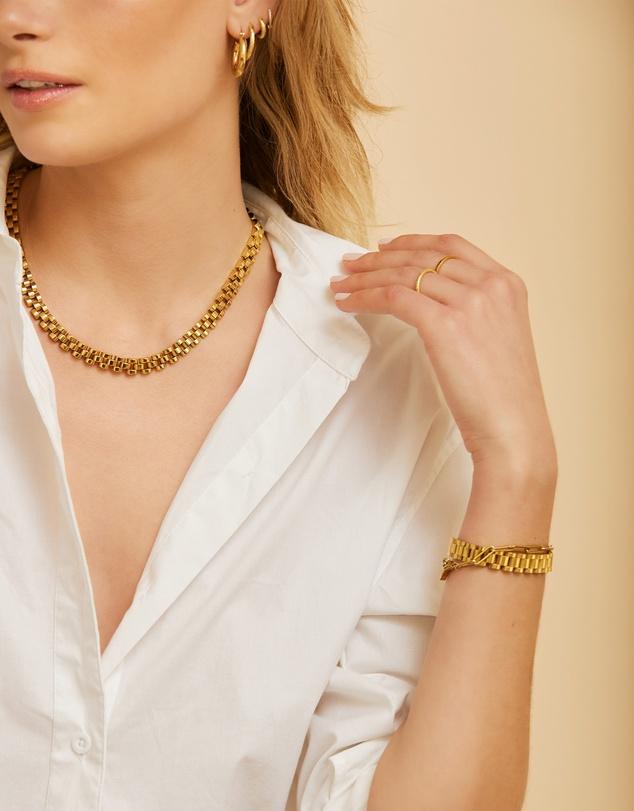Women Dylan Gold Bracelet - Small