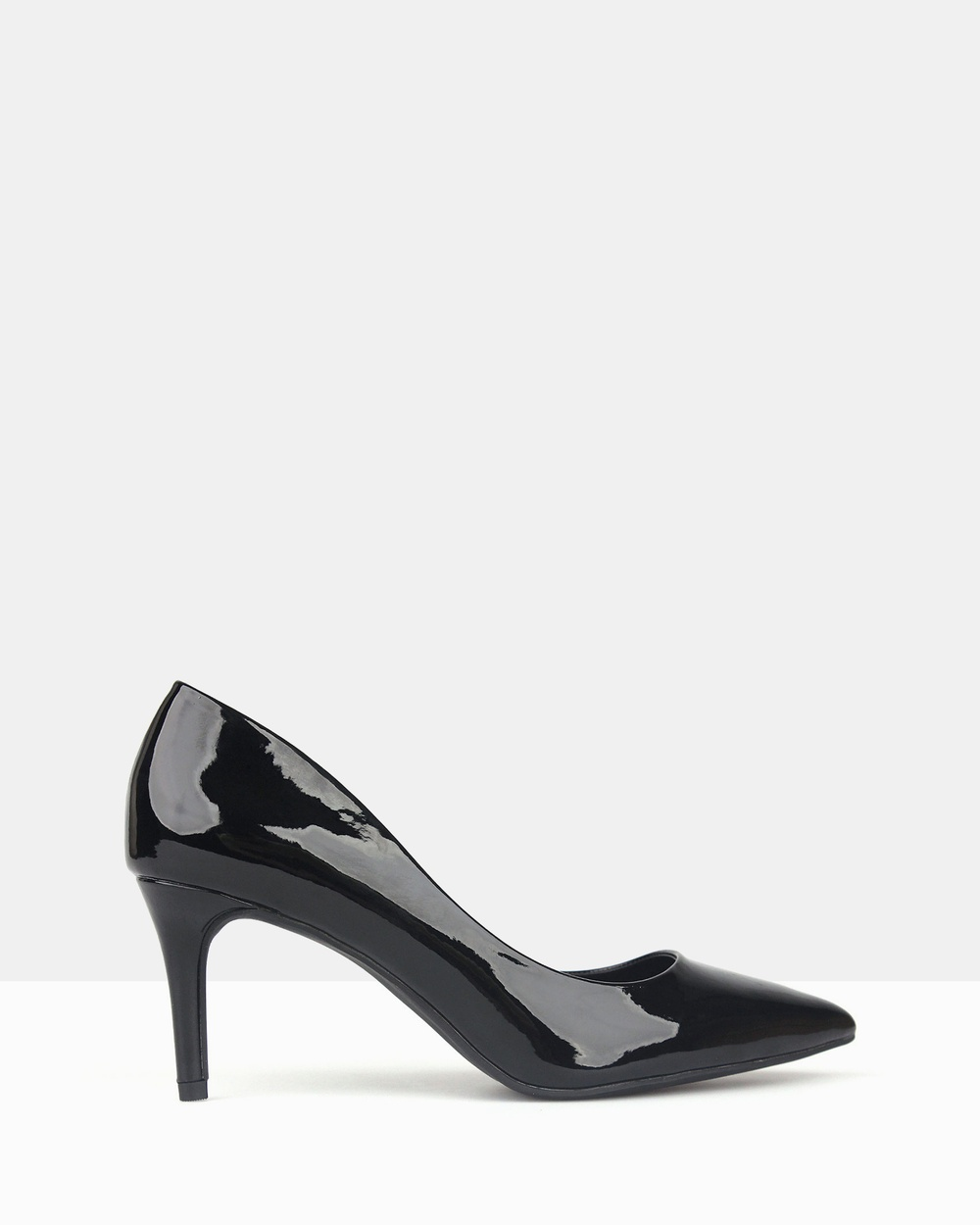 Betts Empower Pointed Toe Pumps All Pumps Black Patent Empower Pointed Toe Pumps