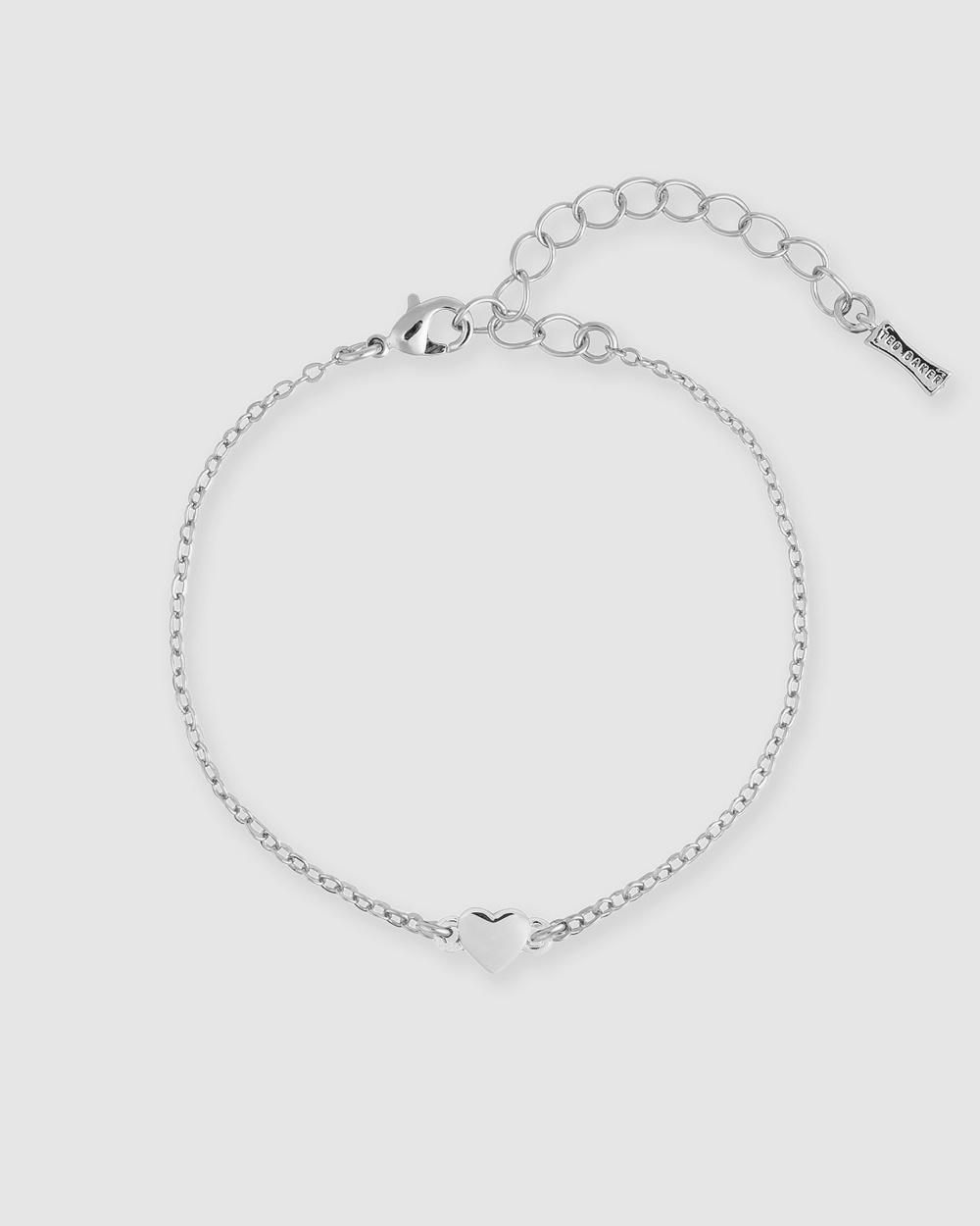 Ted Baker Harsa Tiny Heart Bracelet Jewellery Silver