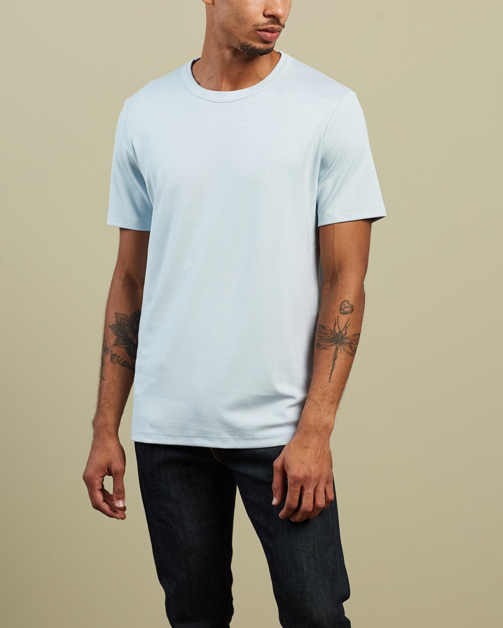 Theory - Essential Tee - T-Shirts & Singlets (Mist) Essential Tee