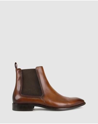 ZU - Hunter Leather Chelsea Boots