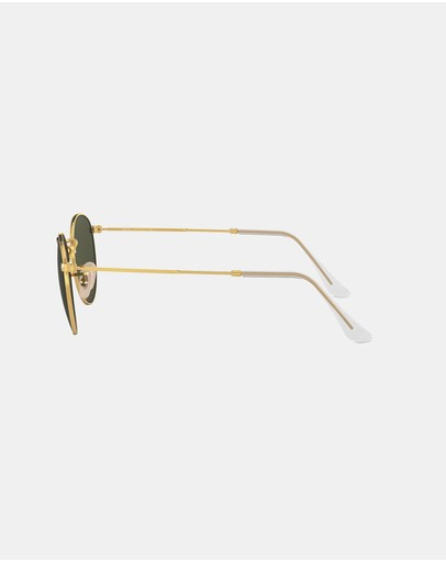 Ray-ban Round Metal Arista & Crystal Green