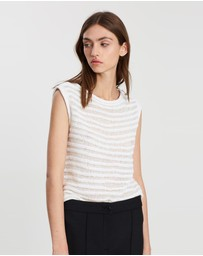 Theory - Boatneck Shell Sug