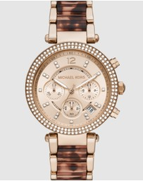 Michael Kors - Parker Two Tone Chronograph Watch