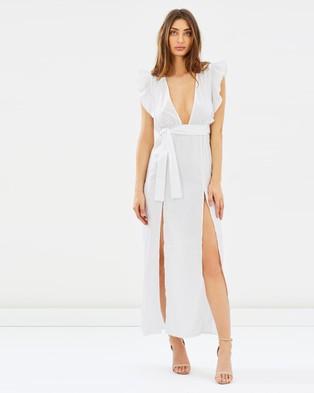 Lioness – Delilah Maxi Dress White