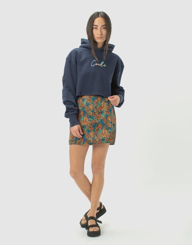 Women Colour Cools Crop Hood