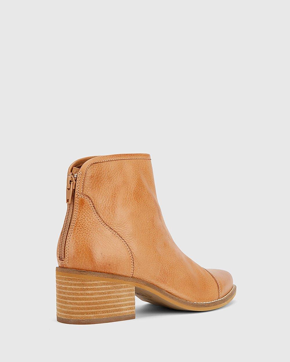 cc6af0744694 Jacey Block Heel Ankle Boots by Wittner Online