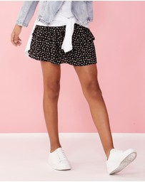 Decjuba Kids - Lulu Wide Shirred Skirt - Teens