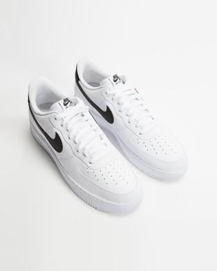 Nike Air Force 1 '07   Men's - Lifestyle Sneakers (White & Black)