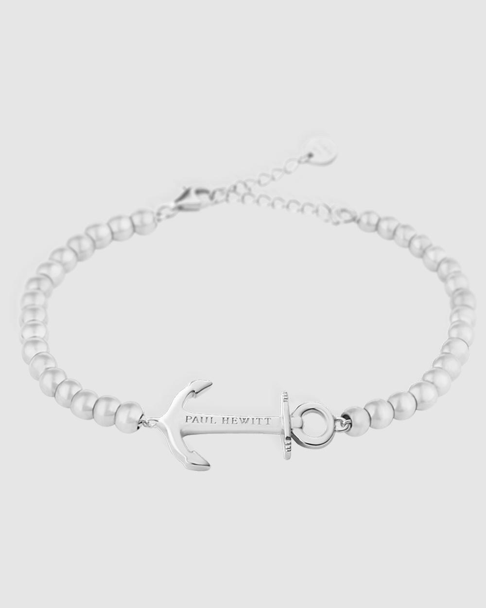 Paul Hewitt Anchor Spirit Stainless Steel Bracelet Jewellery Silver