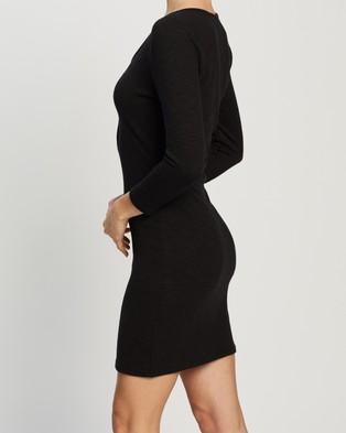 Atmos&Here Lana Mini Dress - Bodycon Dresses (Black)