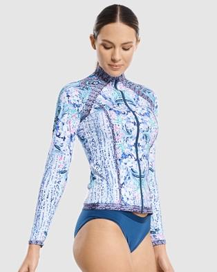 Aqua Blu Australia Babylon Rash Guard - Swimwear (Babylon)