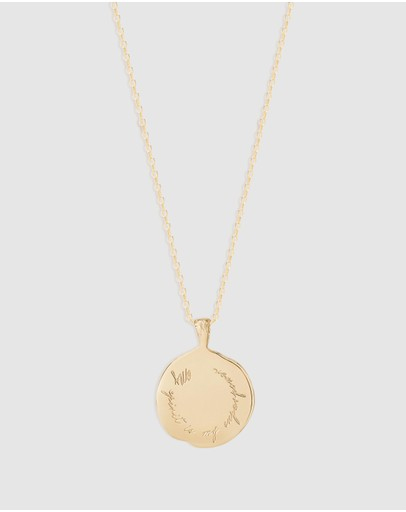 By Charlotte Gemini Necklace Gold