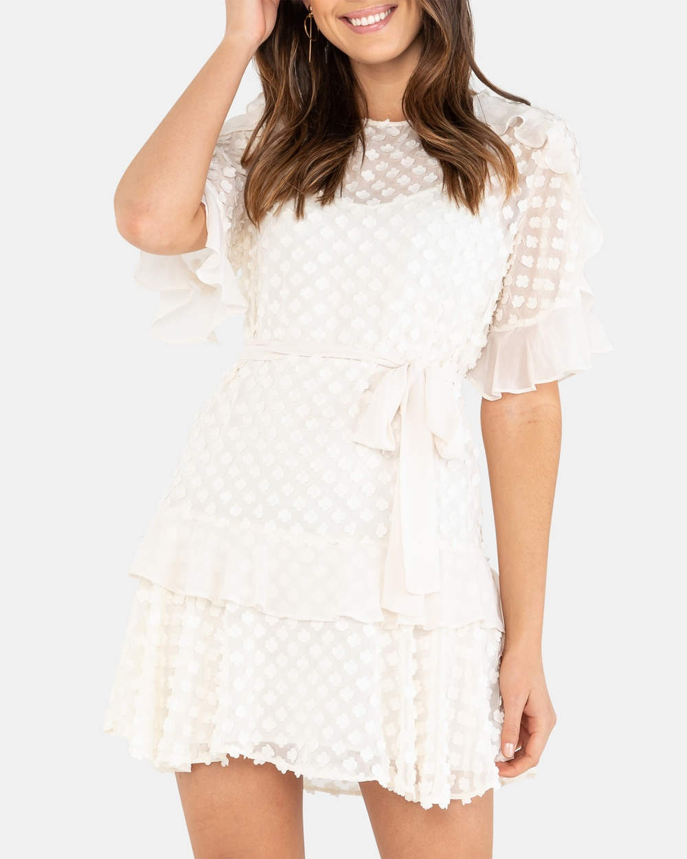 Rodeo Show Ivory Abrielle Dress