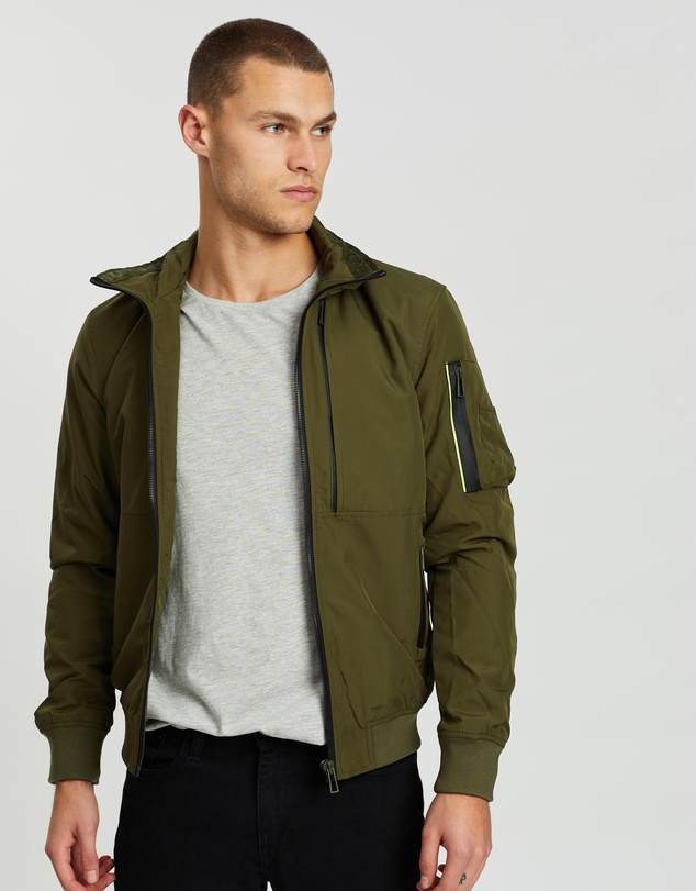for whole family real quality online for sale Moody Light Bomber Jacket
