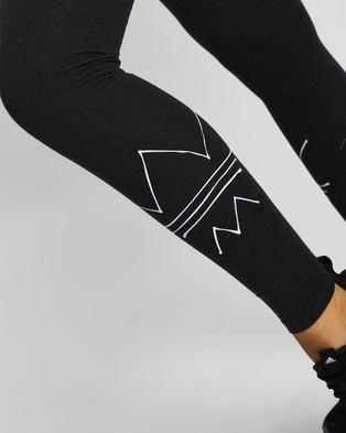 adidas Originals RYV Tights - Pants (Black Melange)