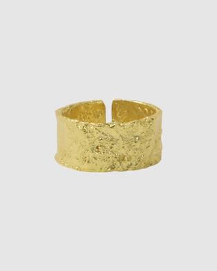 Native Sol Eclypse Cuff Ring - Jewellery (Gold)