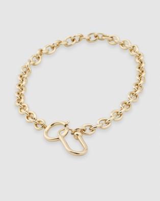 Peter Lang Nova Necklace - Jewellery (Gold)