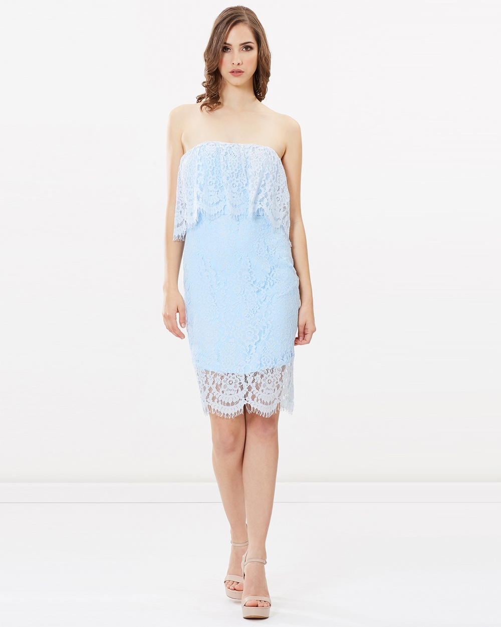 Romance by Honey and Beau Fay Dress Bridesmaid Dresses Soft Blue Fay Dress