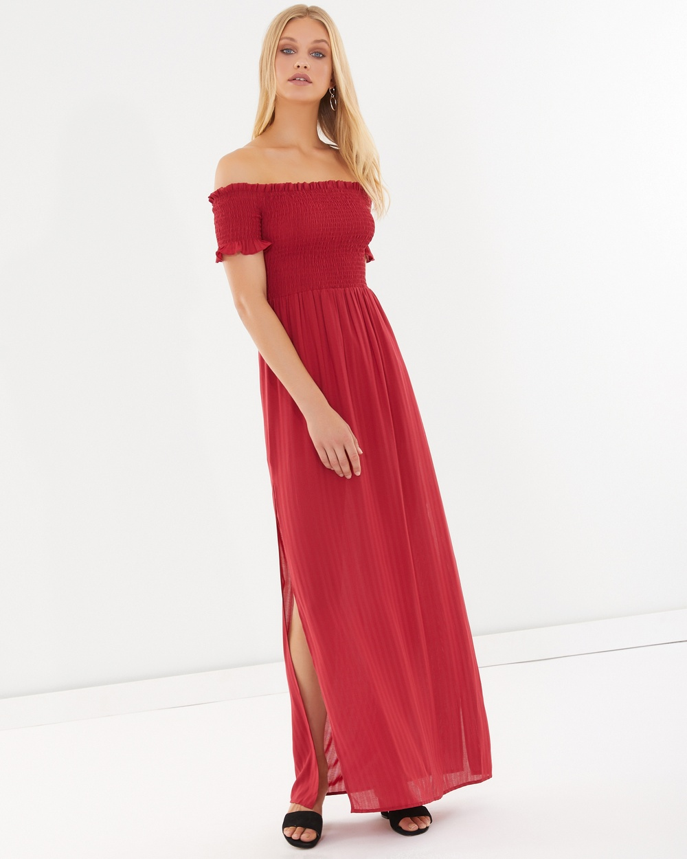 Calli Emmie Maxi Dress Dresses Red Emmie Maxi Dress