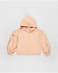 Cotton On Kids - Tilly Puff Sleeve Hoodie - Kids-Teens