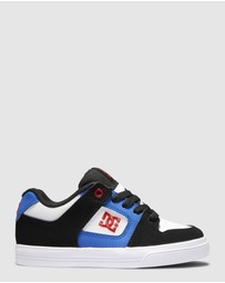 DC Shoes - Youth Pure Leather Shoe