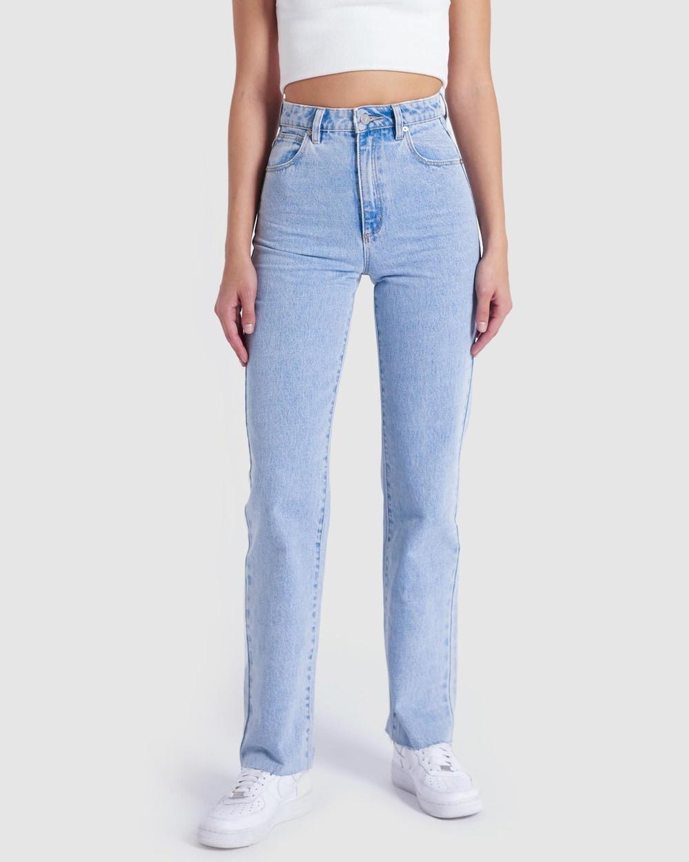 Abrand A '94 High Straight Jeans High-Waisted Walkaway